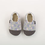 Picture of Slippers - hedgehog grey