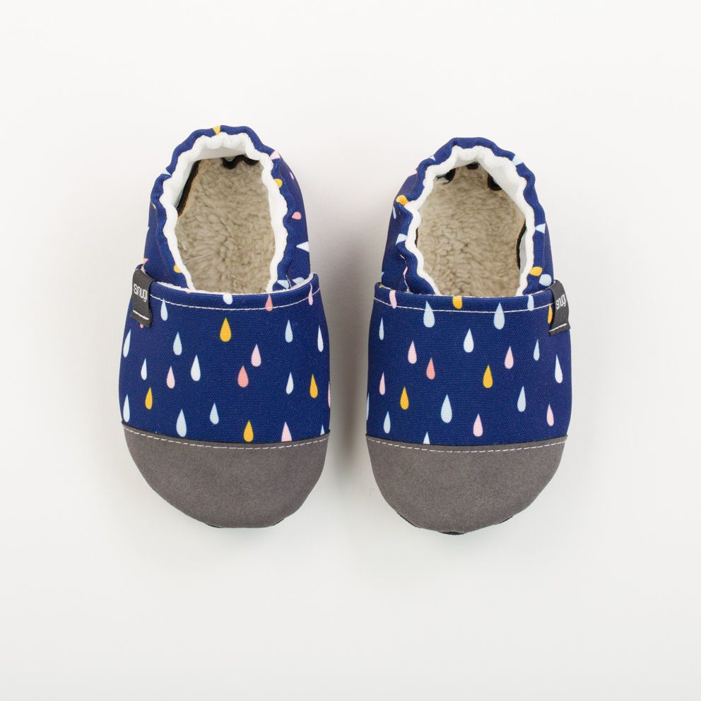 Picture of Slippers - rain drops
