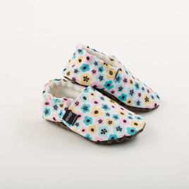 Picture of Slippers - scandinavian flowers