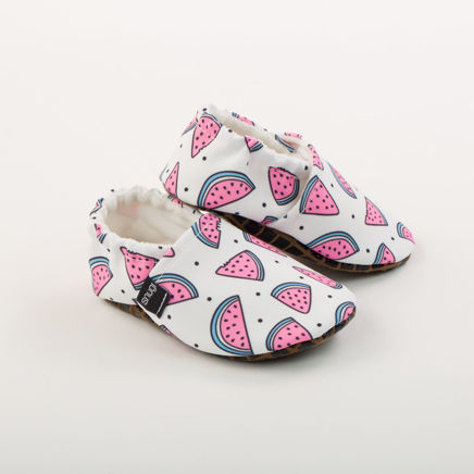 Picture of Slippers - watermelons