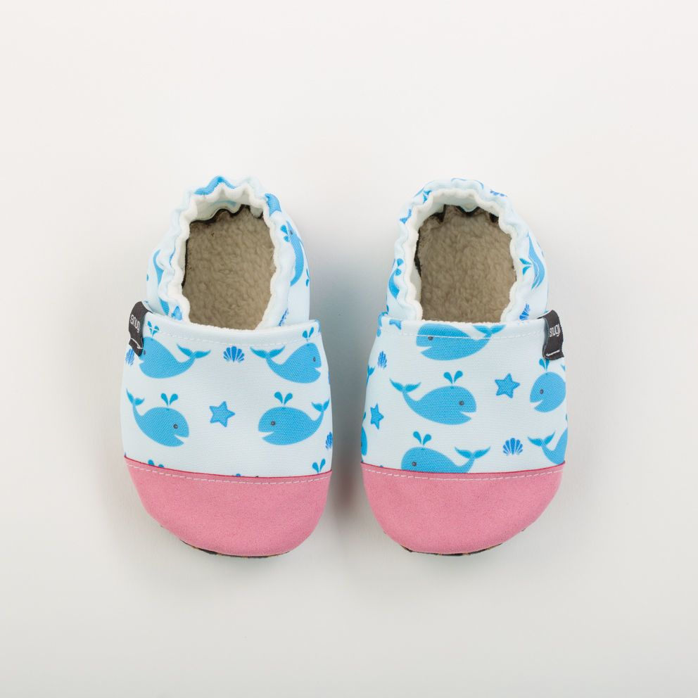 Picture of Slippers - blue whales