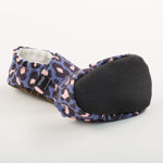 Picture of Slippers - blue leopard