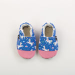 Picture of Slippers - unicorn blue