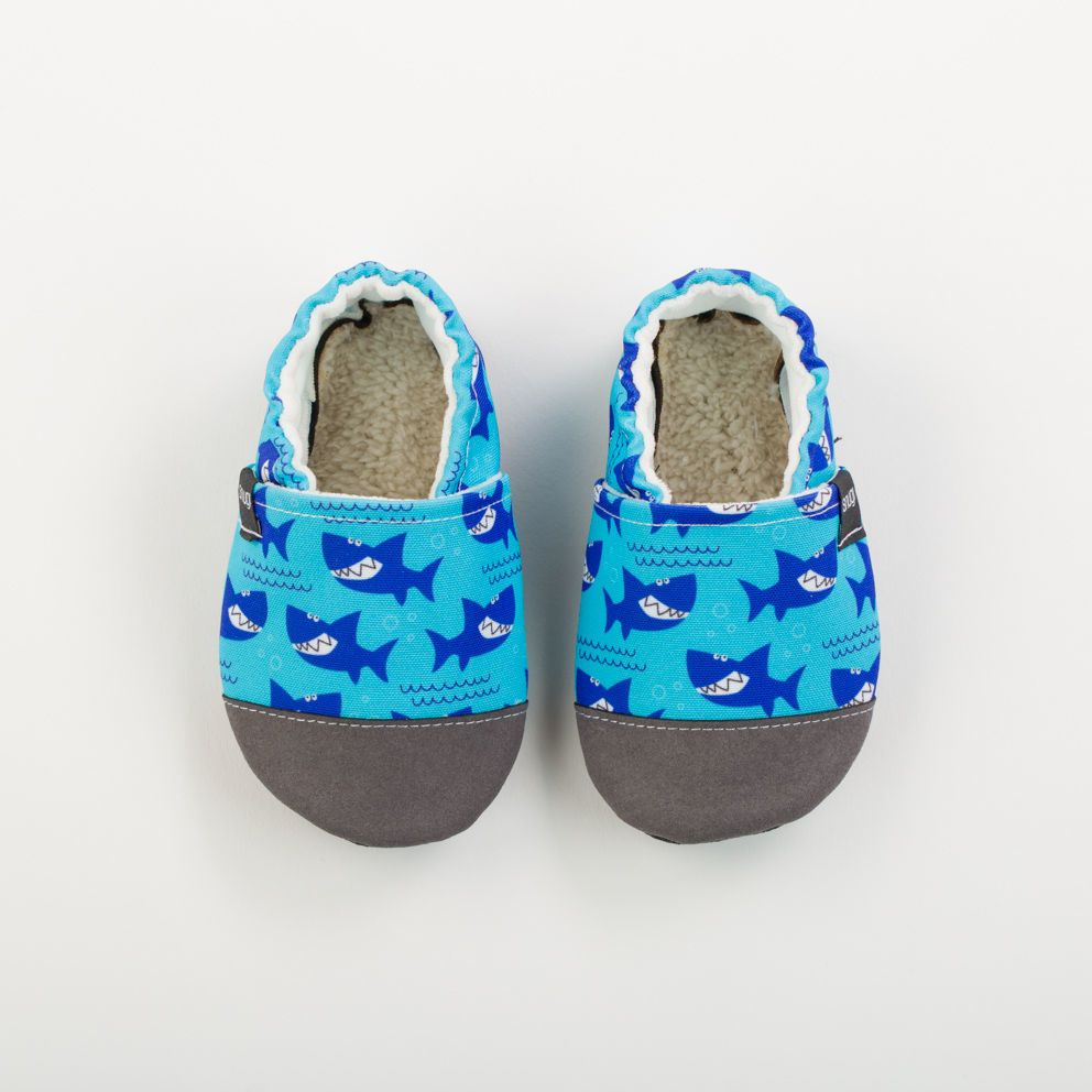 Picture of Slippers - sharks