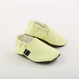 Picture of Slippers - pastel yellow