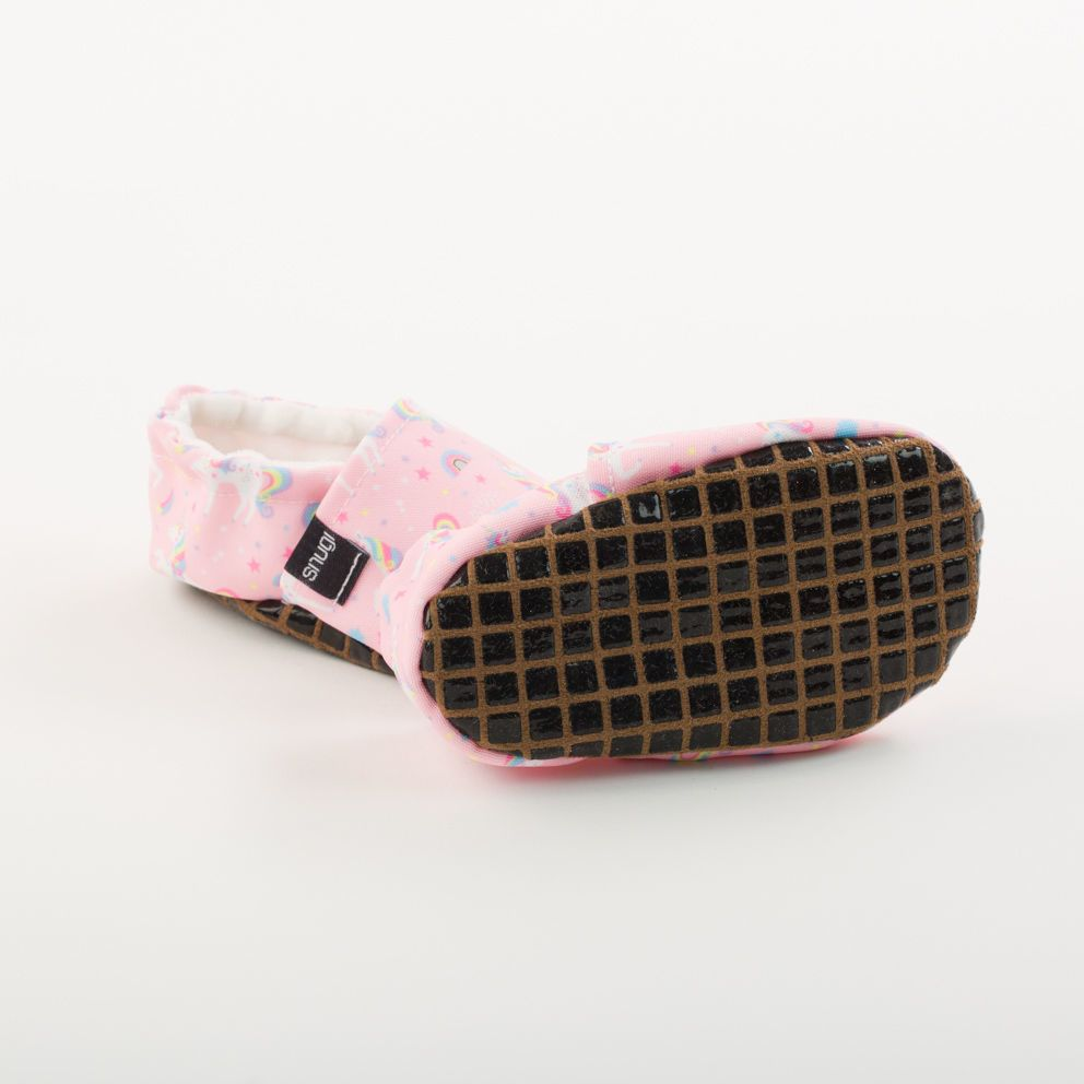 Picture of Slippers - pink unicorn