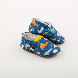 Picture of Slippers - blue dino