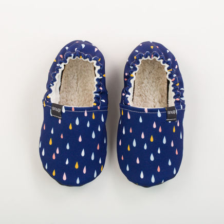 Picture of Kids slippers - rain drops