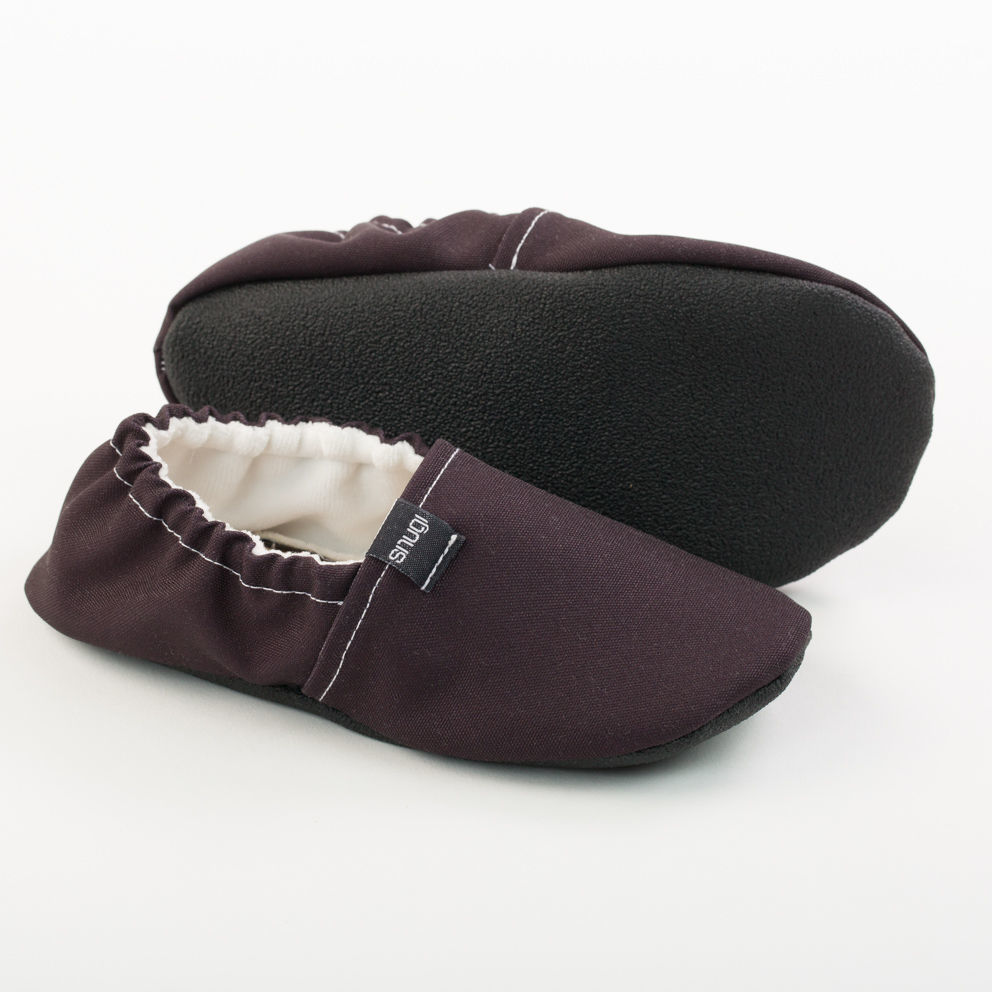 Picture of Kids slippers - black