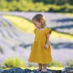 Picture of Cotton dress - yellow