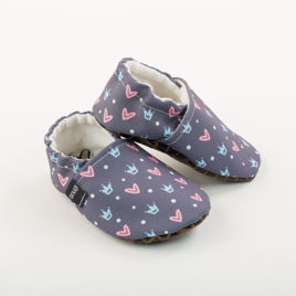 Picture of Slippers - princess crowns