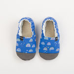 Picture of Kids slippers - blue rainbow