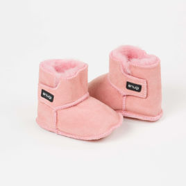 Picture of Merino booties - Pink