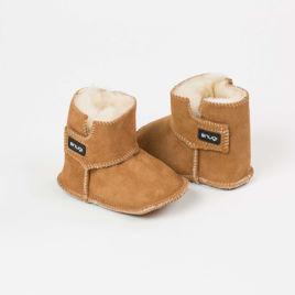 Picture of Merino booties - Brown