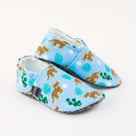 Picture of Slippers - wild cats