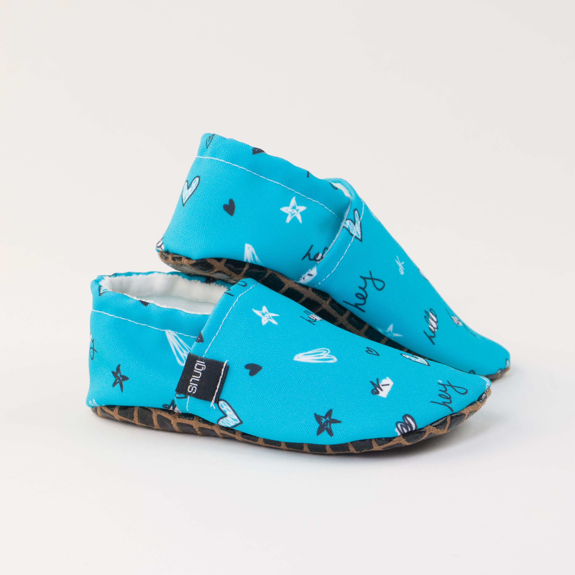 Picture of Slippers - hello blue