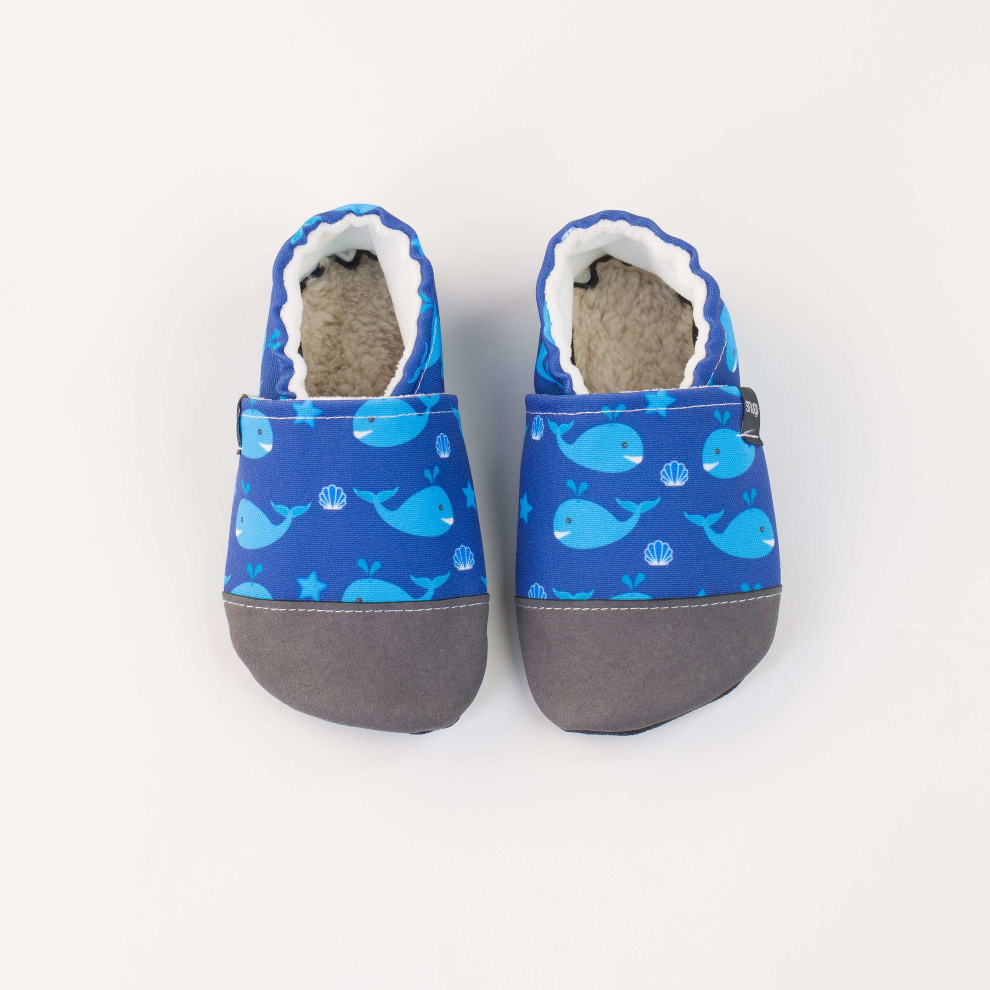 Copati - blue sea and whale