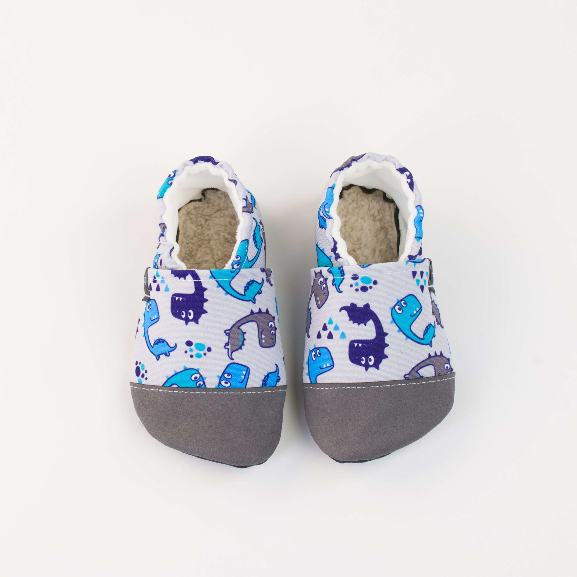Picture of Slippers - cute dinos
