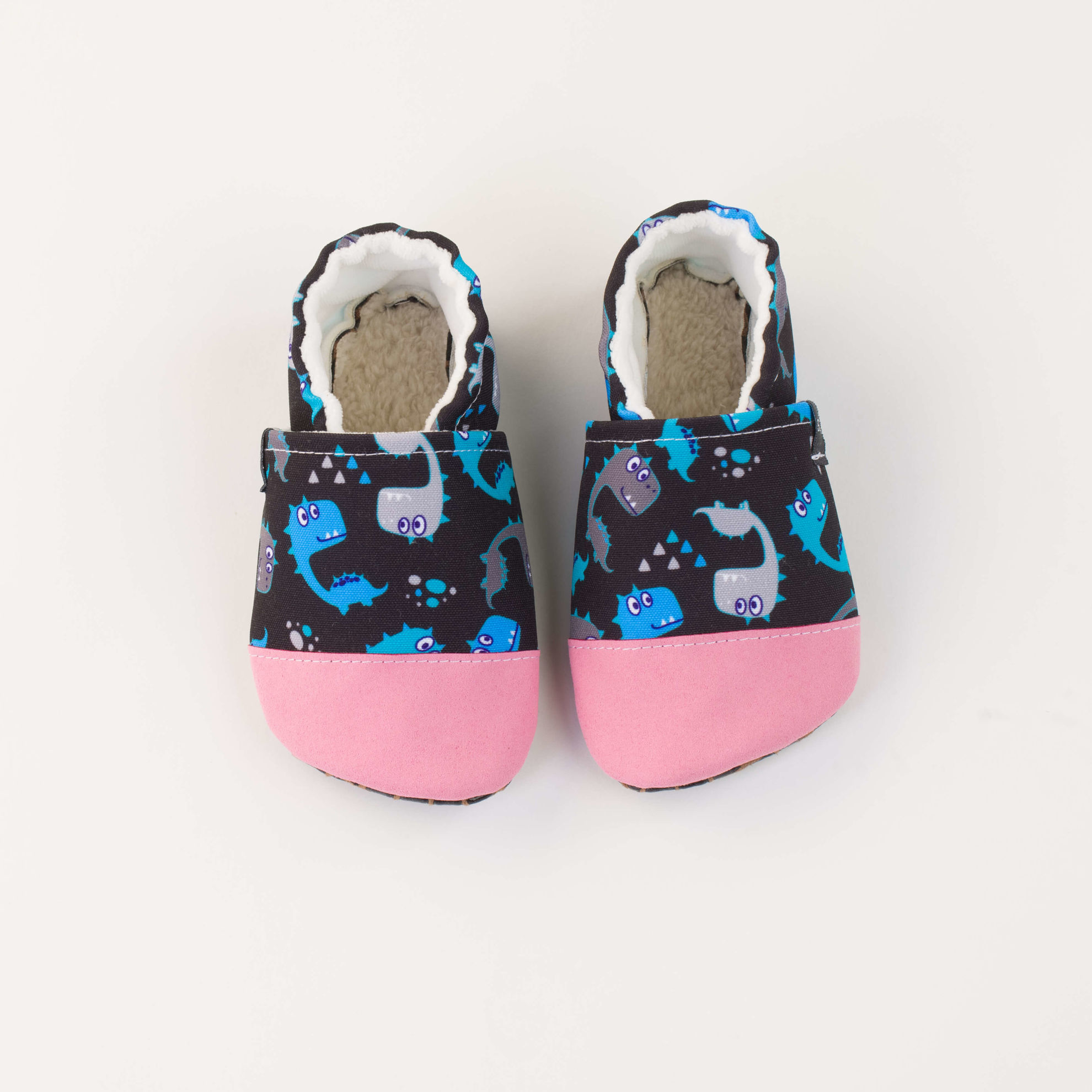 Picture of Slippers - dino in the dark