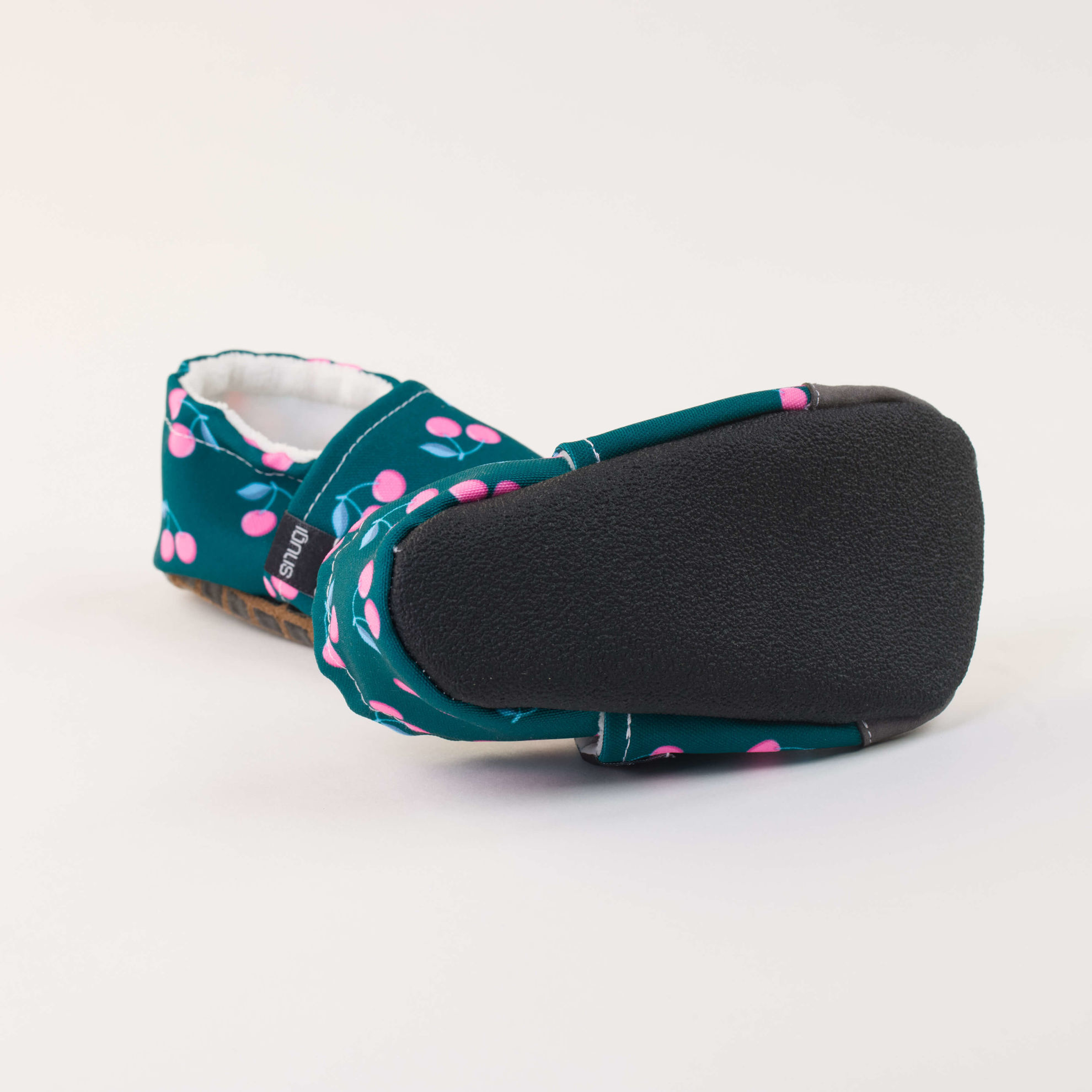 Picture of Slippers - green cherry