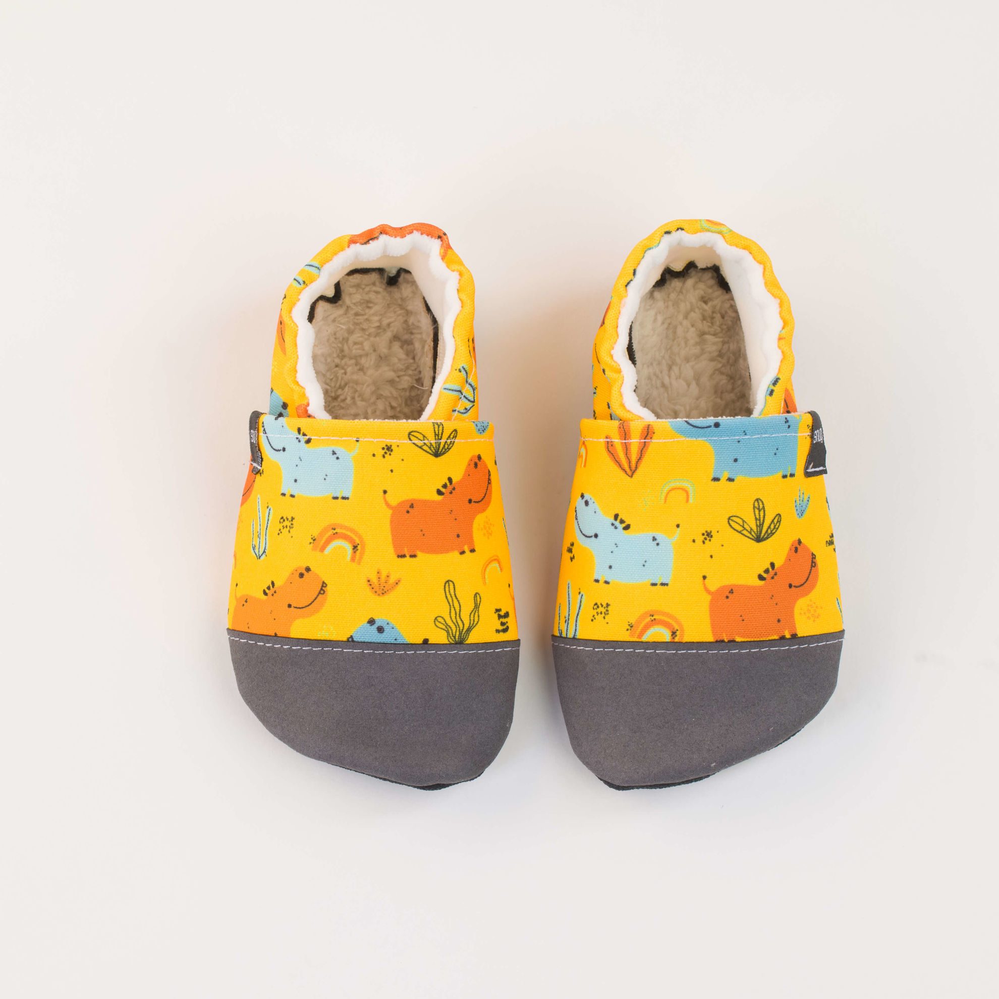 Picture of Slippers - hippo