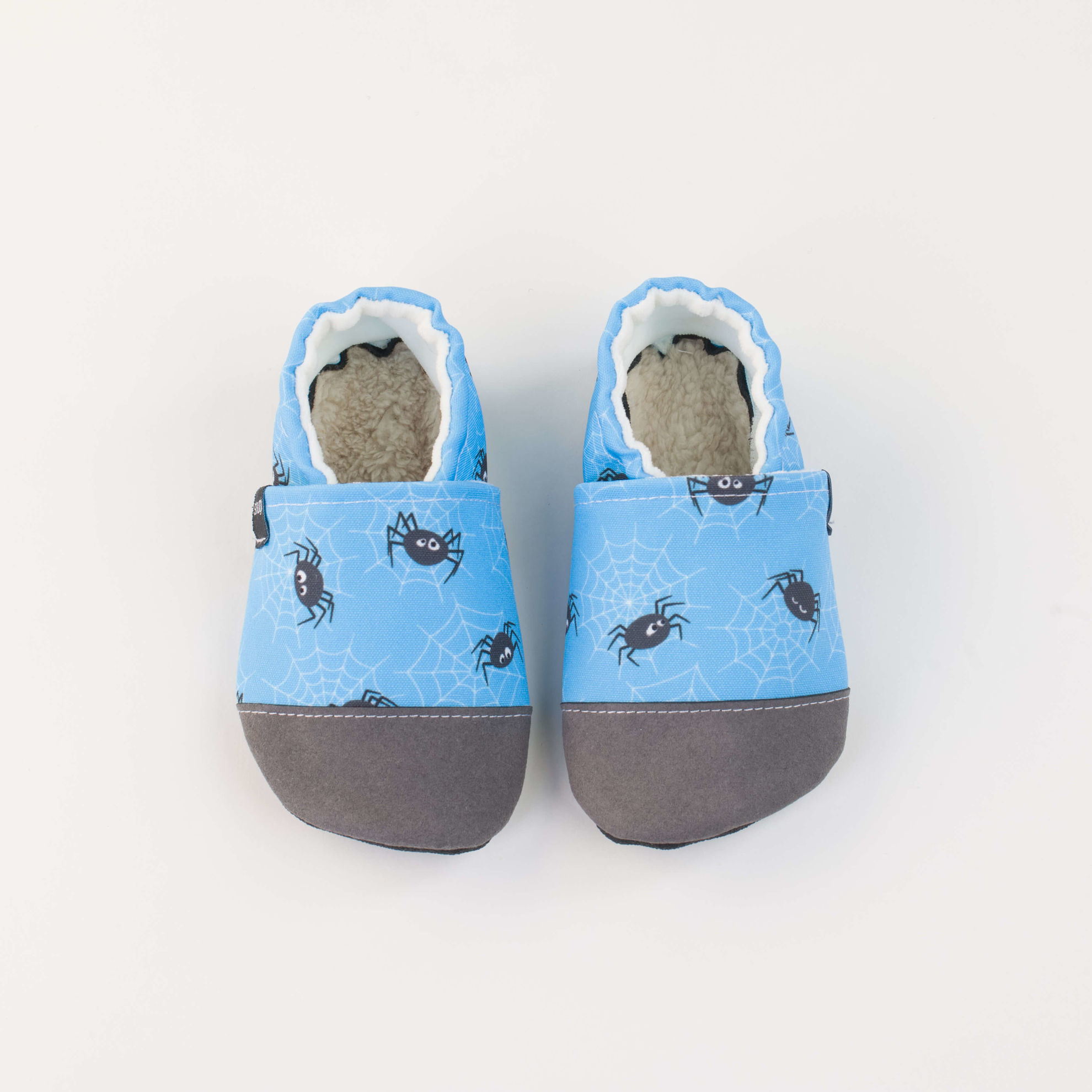 Picture of Slippers - spiders