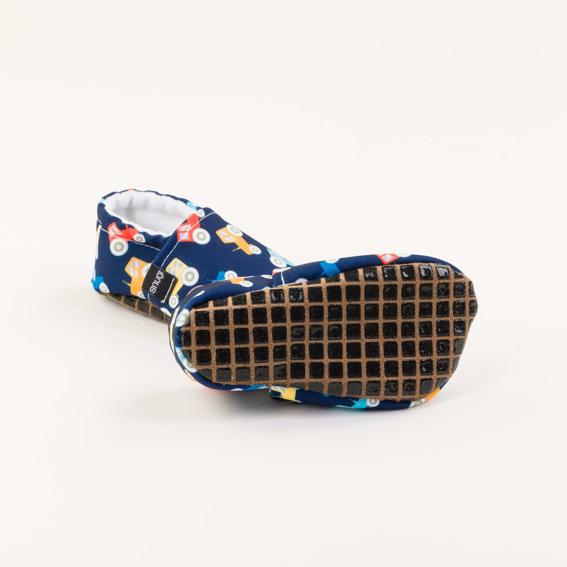 Picture of Slippers - blue tractors