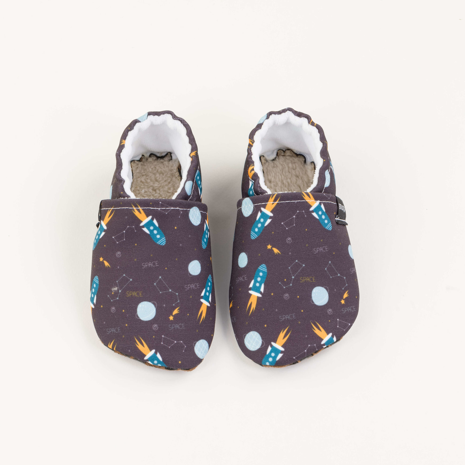 Picture of Slippers - mixed triangels