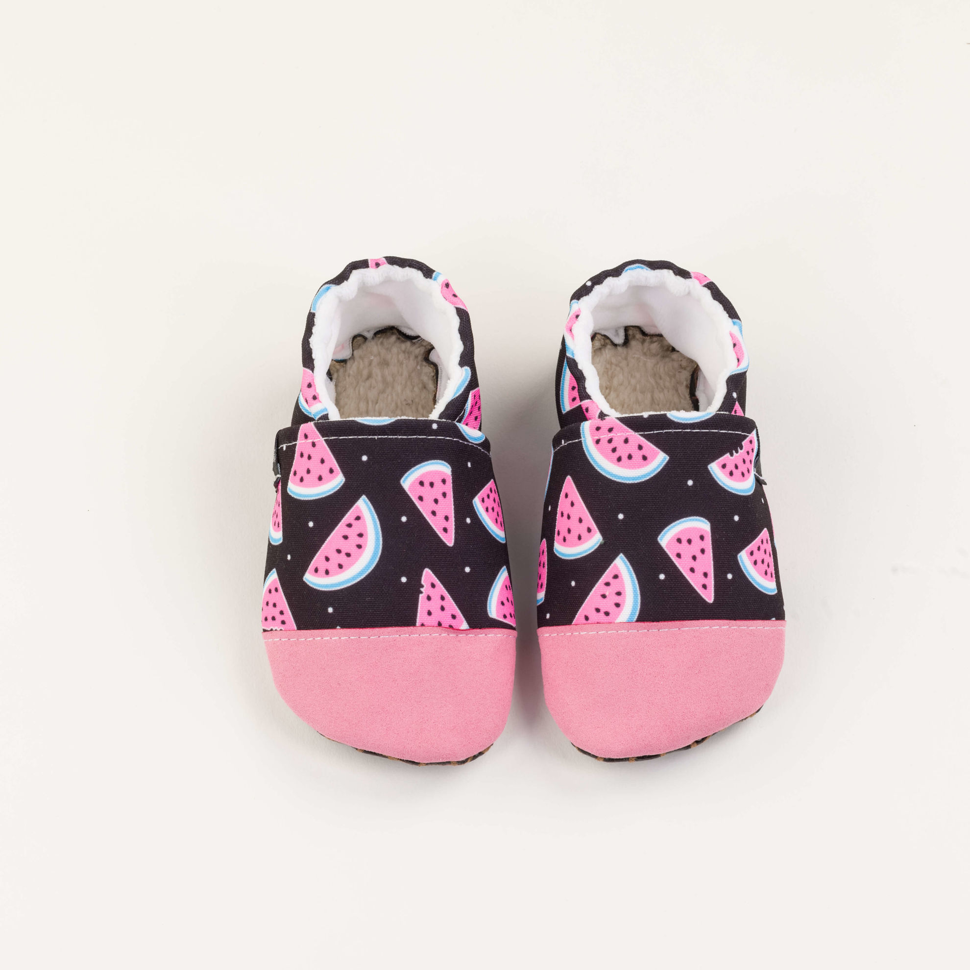 Picture of Slippers -  black watermelons